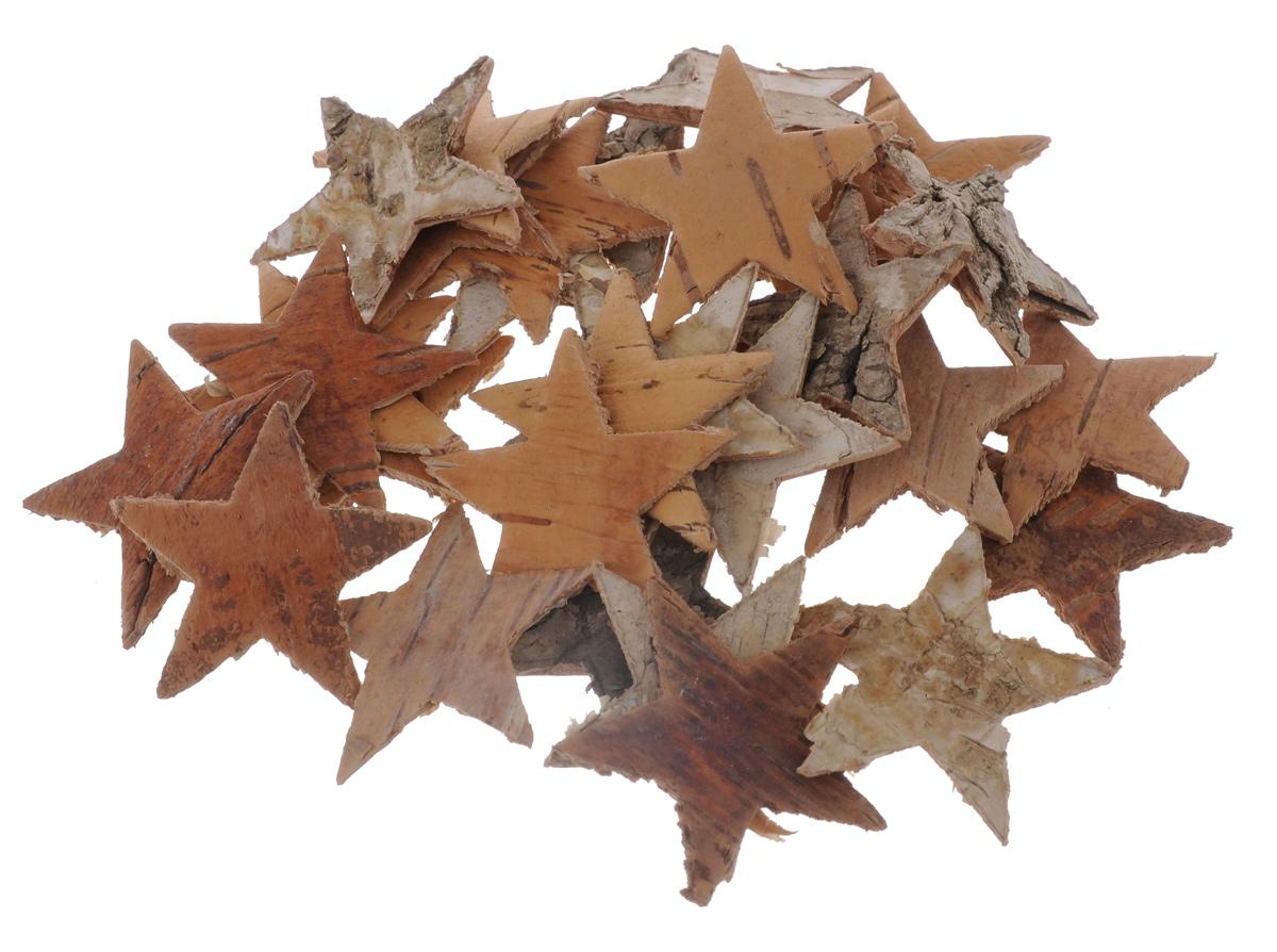 Декоративный элемент Dongjiang Art Звезда, цвет: коричневый, 30 шт7709006_отбеленныйДекоративные элементы Dongjiang Art Звезда, изготовленные из натуральной коры дерева, предназначены для украшения цветочных композиций. Изделия можно также использовать в скрапбукинге и многом другом. Флористика - вид декоративно-прикладного искусства, который использует живые, засушенные или консервированные природные материалы для создания флористических работ. Это целый мир, в котором есть место и строгому математическому расчету, и вдохновению. Размер одного элемента: 3,5 см х 3,5 см.