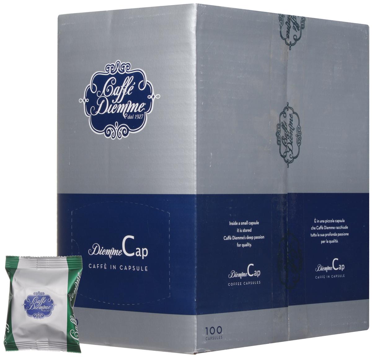 Diemme Caffe Miscela Aromatica кофе в капсулах, 100 шт8003866004122Кофе в капсулах Diemme Caffe Miscela Aromatica - cмесь с характерным насыщенным вкусом и ярким пряным ароматом.