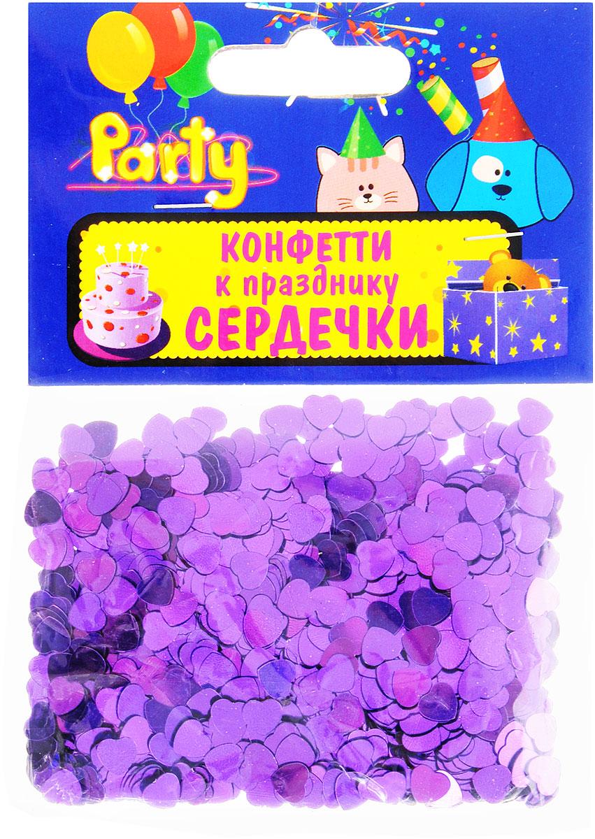 Action! Конфетти Сердечки цвет фиолетовый 14 гAPI0166Конфетти Action! Сердечки - неотъемлемый атрибут праздников, триумфальных шествий, а также свадебных торжеств. Выполнено из прочного материала в форме фиолетовых сердечек. Конфетти осыпают друг друга участники празднеств или его сбрасывают сверху. Конфетти, рассыпанное на столе, является необычной и привлекательной формой украшения праздничного застолья. Еще один оригинальный способ порадовать друзей и близких - насыпьте конфетти в конверт с открыткой - это будет неожиданный сюрприз! Это чудесное украшение принесет в ваш дом или офис незабываемую атмосферу праздничного веселья!