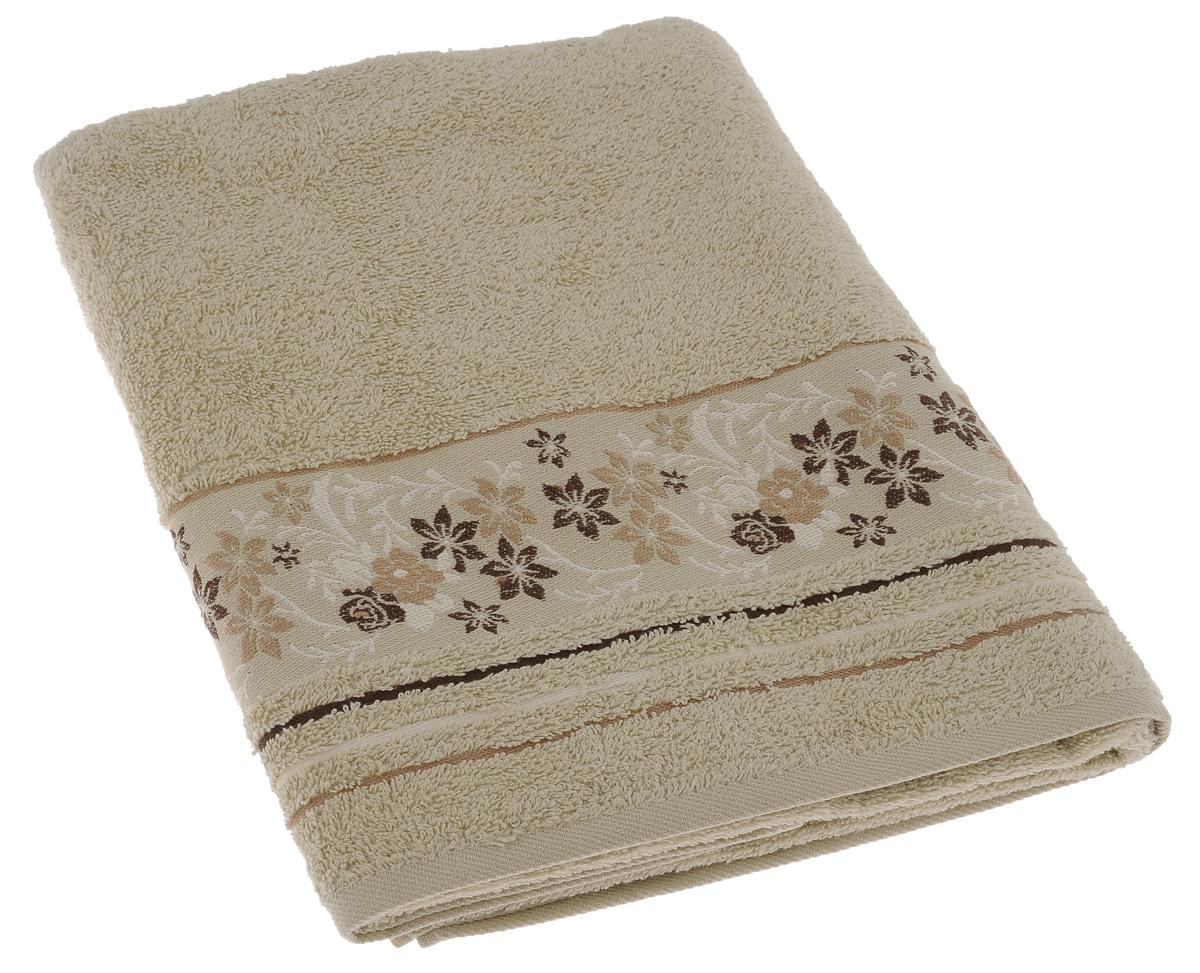 Полотенце махровое Mile, цвет: фисташковый, 70 х 140 см2857014-M22Махровое полотенце Primavelle Mile - невероятно стильный и современный аксессуар для вашей ванной. Полотенце, изготовленное из натурального хлопка с оригинальной цветочной вышивкой, подарит массу положительных эмоций и приятных ощущений. Изделие отличается нежностью и мягкостью материала, утонченным дизайном и превосходным качеством. Оно прекрасно впитывает влагу, быстро сохнет и не теряет своих свойств после многократных стирок. Махровое полотенце Primavelle Mile станет достойным выбором для вас и приятным подарком для ваших близких.