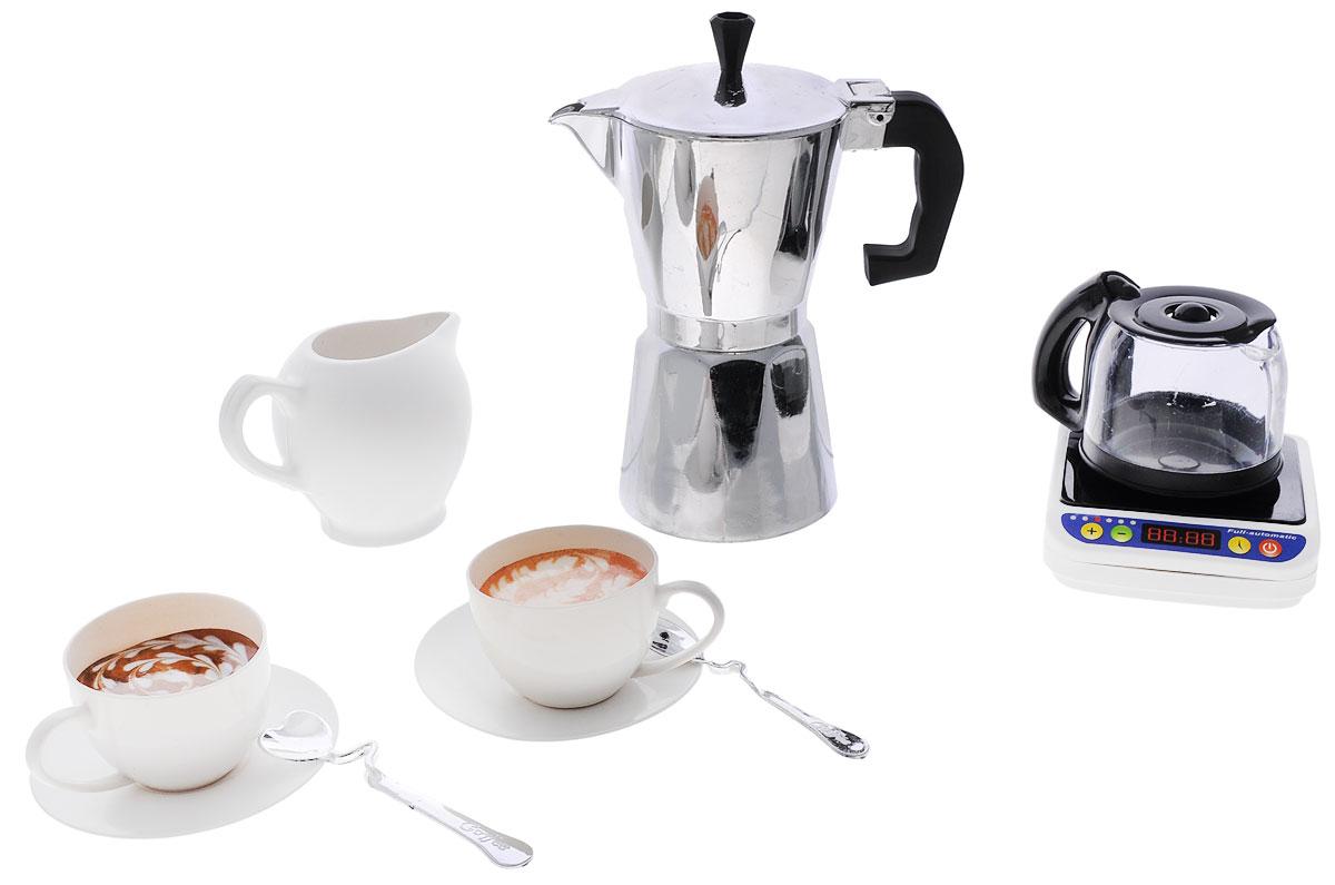 ABtoys Кофейный наборPT-00206Игровой кофейный набор ABtoys станет отличным подарком для любой девочки, которая теперь постоянно может угощать своих любимых кукол вкусным сладким кофе. Набор выполнен из качественного и безопасного пластика. В набор входят сливочник, кофейник, чашки с блюдцами и другое. Играя, ребенок сможет развить речь, аккуратность, усидчивость, а также воображение, двигательную активность рук и фантазию.