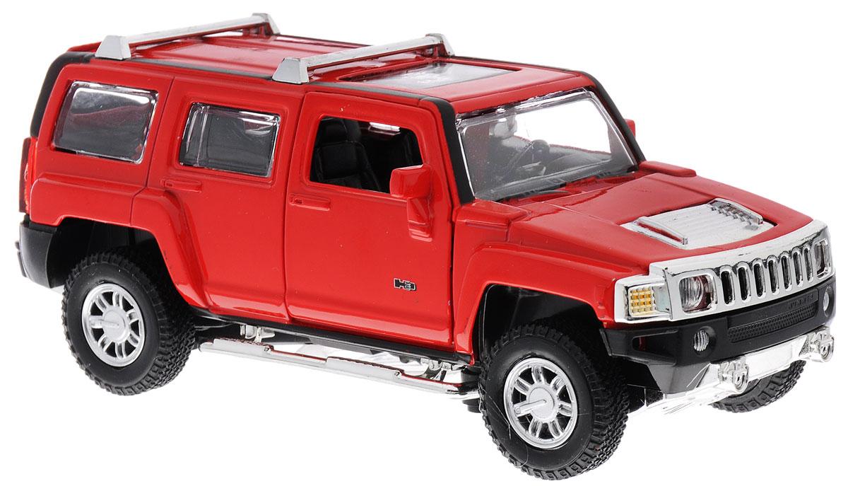 MSZ Модель автомобиля Hummer H3 цвет красныйCP-68321-RМодель автомобиля MSZ Hummer H3 - это копия оригинальной машины в масштабе 1:32. Выполнена из высококачественного металла и пластика, она обязательно понравится не только ребенку, но и взрослому. Игрушечная модель оснащена металлическим корпусом и подвижными колесами. Передние двери машинки и багажник открываются, салон детализирован. Модель дополнена световыми и звуковыми эффектами. Игрушка оснащена инерционным ходом. Для того чтобы автомобиль поехал вперед, необходимо его отвести назад, а затем резко отпустить. Прорезиненные колеса обеспечивают надежное сцепление с любой поверхностью пола. Машинка является отличным подарком для юного гонщика. Во время игры с такой машинкой, у ребенка развивается мелкая моторика рук, фантазия и воображение. Рекомендуется докупить 3 батарейки типа AG13 (товар комплектуется демонстрационными).
