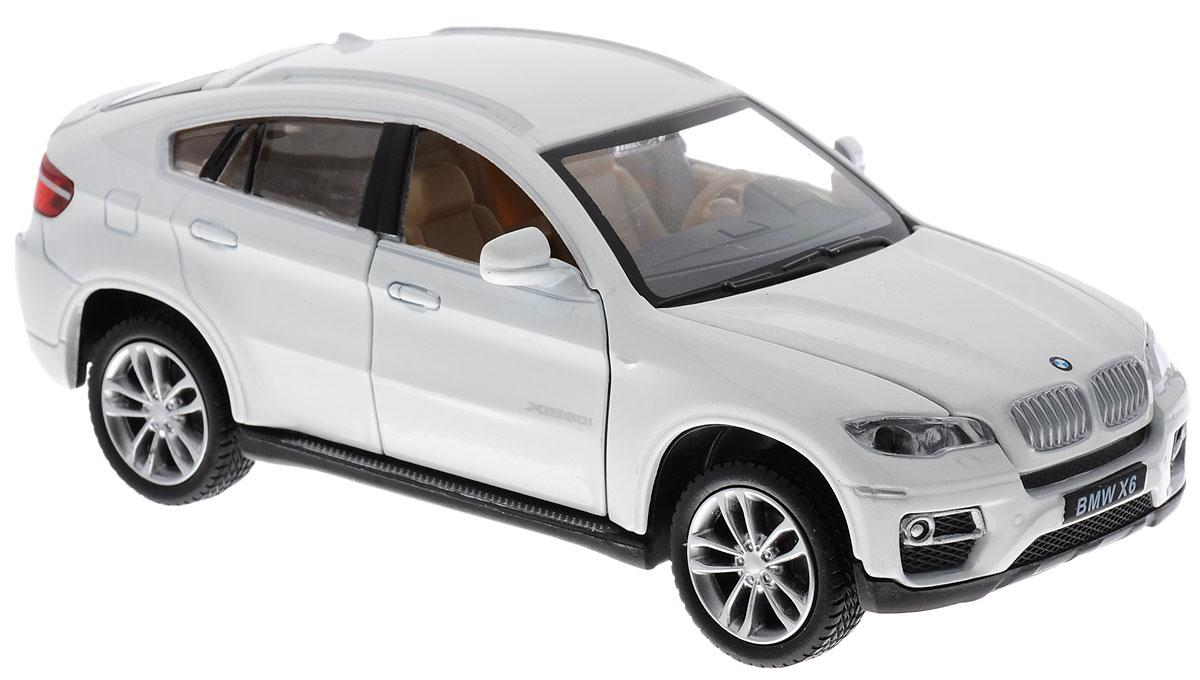 MSZ Модель автомобиля BMW X6CP-68311-WМодель автомобиля MSZ BMW X6 привлечет к себе внимание не только детей, но и взрослых. Модель представлена в масштабе 1:32 и в точности воспроизводит все детали внешнего облика реального автомобиля BMW X6. Машина дополнена световыми и звуковыми эффектами, а также двери и капот авто открываются. Игрушка оснащена инерционным ходом. Для того чтобы автомобиль поехал вперед, необходимо его отвести назад, а затем резко отпустить. Прорезиненные колеса обеспечивают надежное сцепление с любой поверхностью пола. Машинка является отличным подарком для юного гонщика. Во время игры с такой машинкой, у ребенка развивается мелкая моторика рук, фантазия и воображение. Рекомендуется докупить 3 батарейки типа AG13 (товар комплектуется демонстрационными).