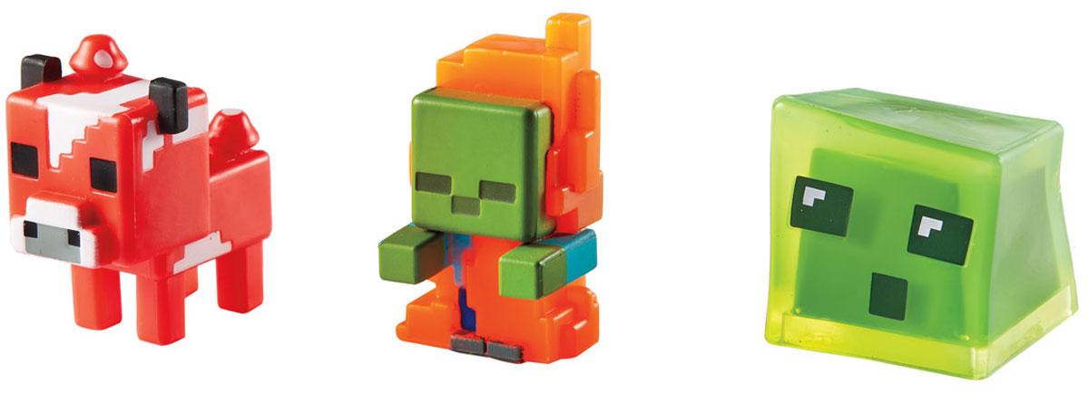 Minecraft Набор из 3х фигурок персонажей CGX24_CKH39CGX24_CKH39Погружайся в удивительный мир Minecraft с набором из трех минифигурок! В каждой упаковке ты найдешь набор из трех фигурок. Любимая игра начнется прямо у тебя на ладони! Выбирай из четырех разных наборов. Каждый отличается фирменным стилем. Начинай исследовать мир минифигурок Minecraft и собери собственную идеальную коллекцию! В набор входят три минифигурки.