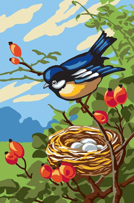 Канва с рисунком для вышивания Collection DArt Птица на ветке, 20 х 30 см6290Канва с рисунком Collection DArt Птица на ветке, изготовленная из хлопка, поможет вам создать свой личный шедевр - красивую вышитую картину. Вышивка выполняется в технике несчетный крест. На полях рисунка указана цветовая палитра. Вышивание отвлечет вас от повседневных забот и превратится в увлекательное занятие! Работа, сделанная своими руками, создаст особый уют и атмосферу в доме и долгие годы будет радовать вас и ваших близких. Страмин с нанесенным рисунком (100% хлопок). Рекомендуемое количество цветов: 17. Размер готового рисунка: 20 х 30 см. Нитки в комплект не входят.