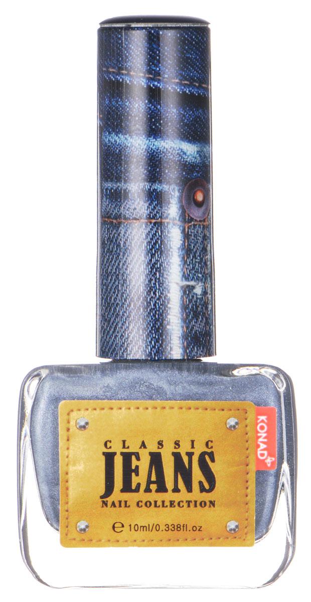 KONAD Коллекция Classic Jeans текстурный лак Nail 05 - Smoke Blue Jeans 10 млNP-CDP05Текстурный лак модной джинсовой расцветки, тренд сезона