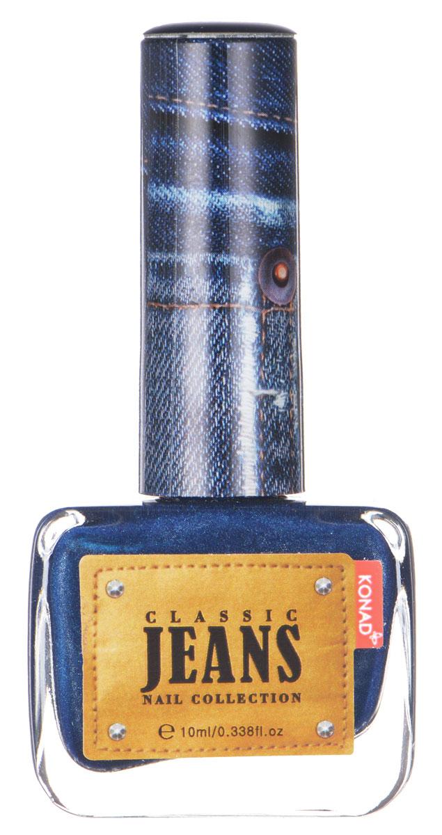 KONAD Коллекция Classic Jeans текстурный лак Nail 04 - Turkey Blue Jeans 10 млNP-CDP04Текстурный лак модной джинсовой расцветки, тренд сезона