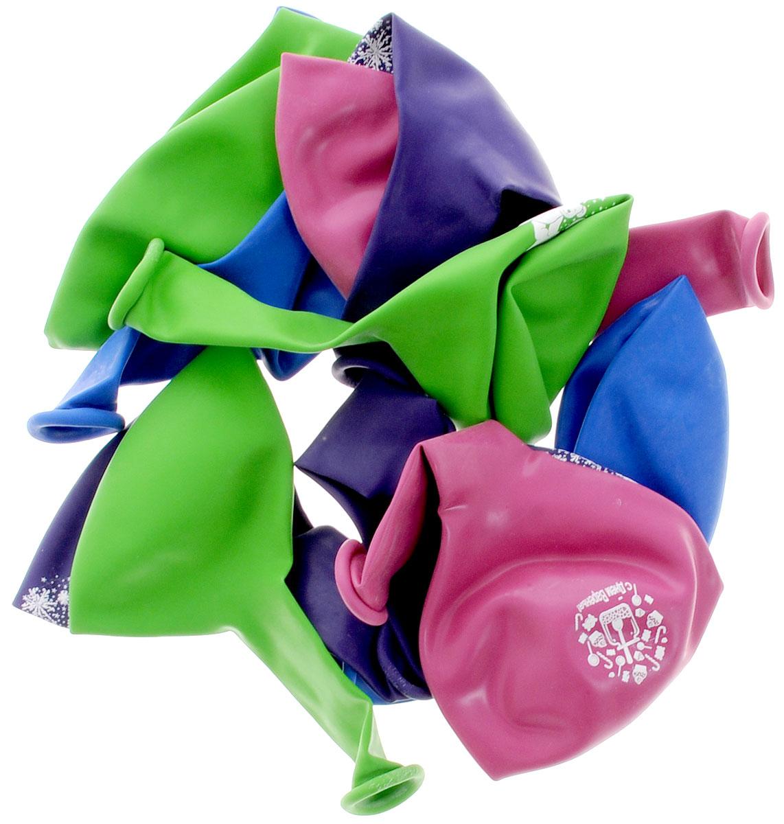 Action! Шары воздушные С Днем Рождения! 25 см 10 штAPI0067/MНабор разноцветных латексных шариков - высочайшего качества. Прочные шары округлой формы с белым рисунком в виде игрушек и салюта. Свадьба, день рождения, или просто признание в любви - воздушные шарики сделают любое событие незабываемым! Эти яркие праздничные аксессуары поднимут настроение вам и вашим гостям! Набор содержит 10 цветных шаров.