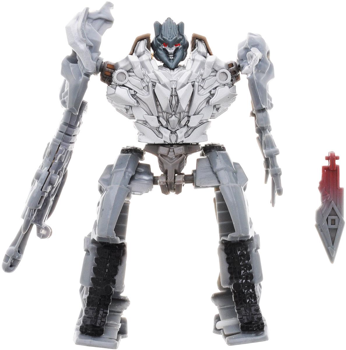 Тилибом Робот-трансформер цвет серыйТ80485_серыйРобот-трансформер Тилибом из серии Стражи галактики понравится любому маленькому поклоннику роботов и автомобилей! Игрушка выполнена из высококачественного пластика, в комплект входит оружие. Игрушка имеет две вариации: из грозного робота она легко превращается в различные виды машин и космических кораблей. Руки, ноги и голова игрушки подвижны, что позволяет придавать ей различные позы. Подобные занятия очень полезны для детей, они способствуют развитию памяти, смекалки, так же развивают воображение, внимательность, мышление и координацию движений. Ребенок с удовольствием будет играть с роботом-трансформером, придумывая разные истории. Порадуйте его таким замечательным подарком!