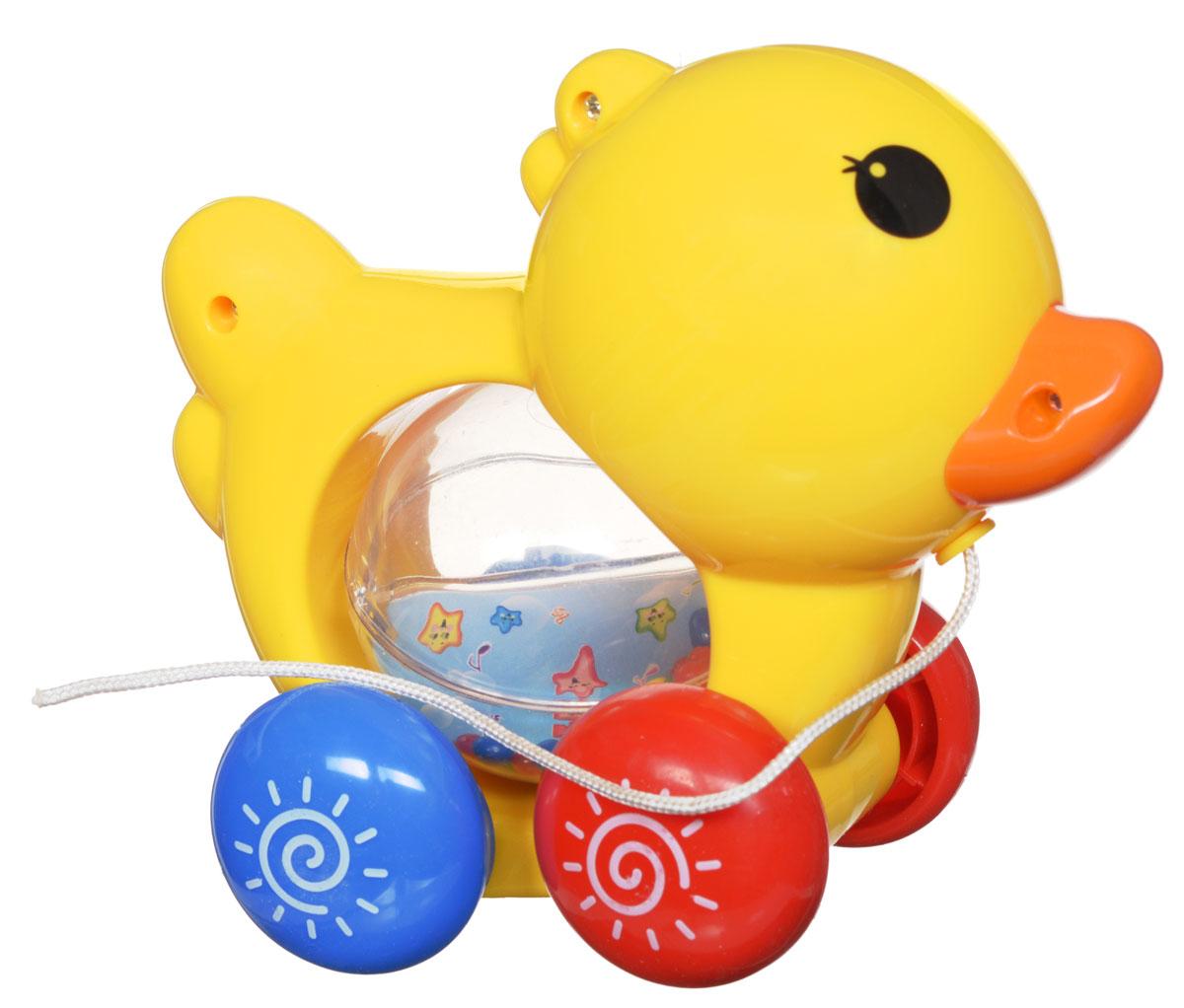 Малышарики Развивающая игрушка Питомец ЦыпленокMSH0303-018_цыпленокРазвивающая игрушка Малышарики Питомец. Цыпленок поможет малышу ближе познакомиться с миром звуков. Игрушка выполнена в ярком дизайне в виде цыпленка, внутри которого расположен прозрачный подвижный шар с маленькими шариками внутри. С первых месяцев жизни малыш начинает интересоваться яркими, подвижными предметами, ведь они являются его главными помощниками в изучении нашего удивительного мира. Забавная игрушка развивает мелкую моторику, слуховое восприятие и концентрацию внимания. Рекомендуется докупить 3 батарейки типа AG13 (товар комплектуется демонстрационными).