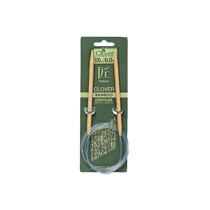 Спицы Clover, бамбуковые, круговые, диаметр 3 мм, длина 100 см3016Спицы для вязания Clover изготовлены из натурального бамбука и пластика. Изделия прочные, легкие, гладкие, удобные в использовании. Деревянные спицы предназначены для вязания чулок, шапочек, варежек, носков и других вещей. Вы сможете вязать для себя и делать подарки друзьям. Рукоделие всегда считалось изысканным, благородным делом. Работа, сделанная своими руками, долго будет радовать вас и ваших близких. Диаметр: 3 мм. Длина: 100 см.
