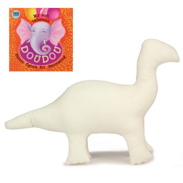 Основа для декора RTO Doudou. Динозавр, 30 х 7 х 19 смST-01Основа RTO Doudou. Динозавр предназначена для декорирования. Изделие выполнено из 100% хлопка, наполнитель - полиэстер. Игрушку можно раскрасить, сделать декупаж по ткани, расшить бисером или пайетками - и получится отличный талисман, который можно подарить другу или оставить себе!