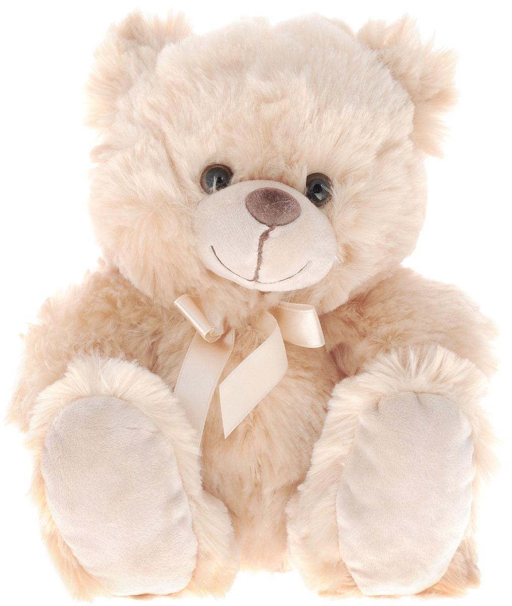 Plush Apple Мягкая игрушка Медведь Подарочный 26 см5D00069KМилая мягкая игрушка Plush Apple Медведь Подарочный с атласным бежевым бантиком на шее, привлечет внимание любого ребенка. Модель изготовлена из приятных на ощупь и очень мягких материалов, безвредных для малыша. Его добрые глаза и приветливая улыбка вызовут умиление и улыбку. Очень мягкий и нежный, с ним так приятно играть, ходить на прогулку и засыпать, прижавшись к нему. Мишка станет прекрасным подарком любимым и близким.
