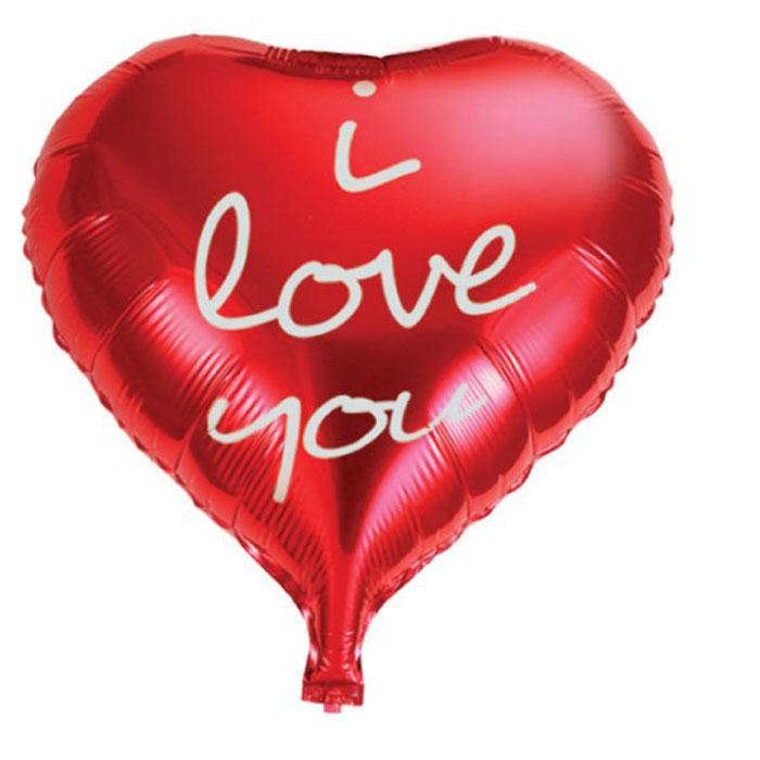 Action! Шар фольгированный I Love YouAPI0215Большой фольгированный шар I Love You станет замечательным украшением праздника и веселой игрушкой для малыша. Яркий шар в форме сердца и с надписью I Love You может стать прекрасным дополнением к подарку на день рождения! С помощью этого аксессуара любая вечеринка останется незабываемой! Изделие поставляется не надутым