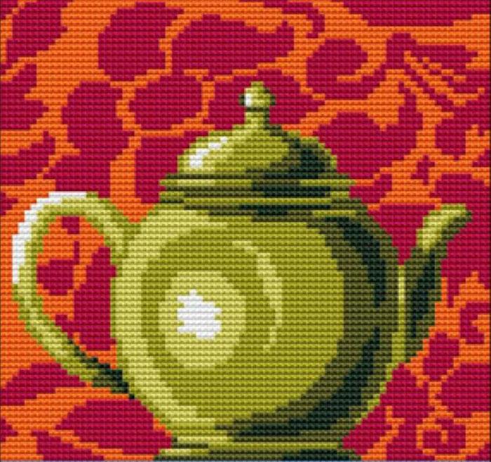 Набор для вышивания подушки Collection DArt Бронзовый горшок, 40 х 40 см5012Набор Collection DArt Бронзовый горшок поможет создать удивительно красивую подушку. Рисунок-вышивка, выполненный на страмине с нанесенным рисунком (специальная канва повышенной жесткости), станет прекрасной заготовкой для создания стильной декоративной подушки. Вышивание отвлечет вас от повседневных забот и превратится в увлекательное занятие! Работа, сделанная своими руками, создаст особый уют и атмосферу в доме и долгие годы будет радовать вас и ваших близких, а также станет прекрасным подарком. Набор для вышивания содержит все необходимые материалы для вышивки на печатной канве в технике несчетный крест. В состав набора входит: - страмин с напечатанным рисунком (100% хлопок), 48 х 48 см; - пряжа (100% акрил), 8 цветов; - игла с позолоченным ушком; - детальная инструкция по вышиванию. Обратная сторона подушки и наполнитель в комплект не входят.