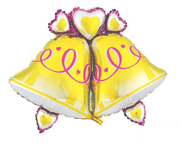 Action! Шар фольгированный КолокольчикиAPI0211Большой фольгированный шар Колокольчики станет замечательным украшением праздника и веселой игрушкой для малыша. Яркий шар в форме двух колокольчиков может стать прекрасным дополнением к подарку на день рождения! С помощью этого аксессуара любая вечеринка останется незабываемой! Изделие поставляется не надутым.