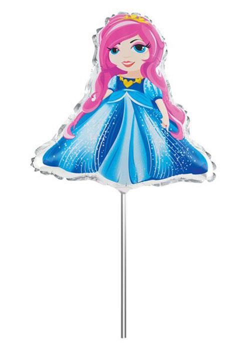 Action! Шар фольгированный на палочке ПринцессаAPI0224Фольгированный шар Принцесса станет замечательным украшением праздника и веселой игрушкой для малыша. Яркий шар в форме принцессы, может стать прекрасным дополнением к подарку на день рождения! С помощью этого аксессуара любая вечеринка останется незабываемой! Шар дополнен пластиковой палочкой и держателем. Изделие поставляется не надутым.
