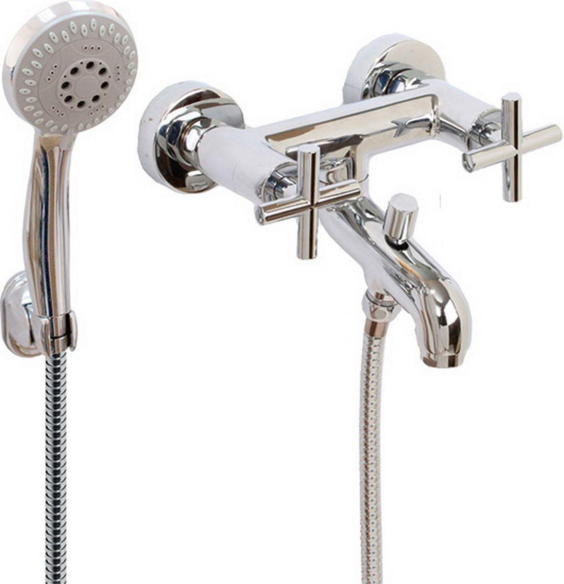 Argo смеситель для ванны York, 1/2 керамический26653Смеситель для ванны 122-n york кран букса 1/2 900 керамика 7,7х20, крепеж эксцентрик усиленный 3/4 х 1/2 + прокладка-фильтр аэратор м28х1 наружная резьба neoperl perlator 16 - 20 л/мин. при 0,3 МПа покрытие никель / хром комплектация душевой шланг 150 см, оплетка - хромированная нержавеющая сталь, двойной замок, 1/2 душевая лейка new пятипозиционная: душ, массаж, аэро, душ/массаж, душ/аэро кронштейн материал основа латунь