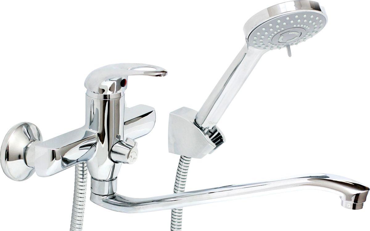 Argo смеситель для ванны и умывальника Open, d-35, керамическийамбукса, 295 мм29338Смеситель для ванны и умывальника 35-s35/k open картридж d-35 мм short-size, крепеж эксцентрик 3/4 х 1/2 + прокладка-фильтр аэратор м24х1 наружная резьба only plast 10 - 13 л/мин. при 0,3 МПа покрытие никель / хром комплектация душевой шланг 150 см, оплетка - хромированная нержавеющая сталь, двойной замок, 1/2 душевая лейка Lux трехпозиционная: душ, массаж, душ/массаж кронштейн двухпозиционный материал основа латунь