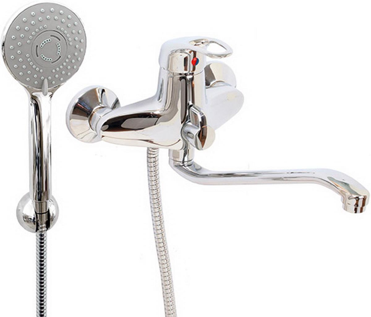 Argo смеситель для ванны и умывальника Lux Jamaica, d-40, керамическийамбукса, S образный излив 295 мм29347Смеситель для ванны и умывальника 40-s35l/k jamaica картридж d-40 мм short-size, крепеж эксцентрик усиленный 3/4 х 1/2 + прокладка-фильтр аэратор м24х1 наружная резьба only plast 10 - 13 л/мин. при 0,3 МПа покрытие никель / хром комплектация душевой шланг 150 см, оплетка - хромированная нержавеющая сталь, двойной замок, 1/2 душевая лейка Lux трехпозиционная: душ, массаж, душ/массаж кронштейн двухпозиционный материал основа латунь