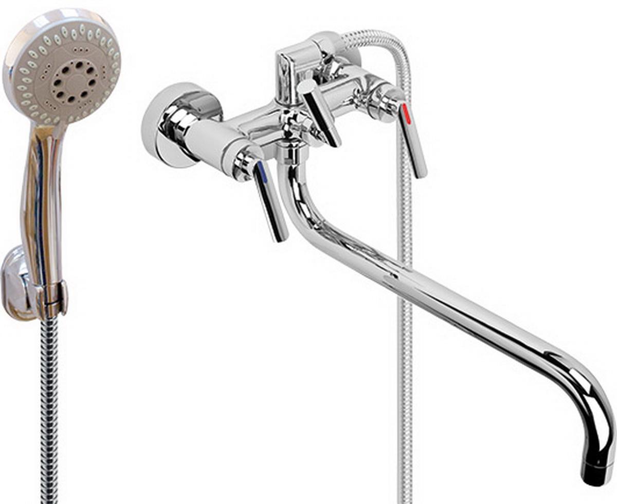 Argo смеситель для ванны и умывальника Montana, 1/2, керамический картриджный, трубчатый излив 325 мм29583Смеситель для ванны и умывальника 202-n montana кран букса 1/2 900 керамика 7,7х20 правостороннее / левостороннее закрытие, крепеж эксцентрик усиленный 3/4 х 1/2 + прокладка-фильтр аэратор м22х1 внутренняя резьба only plast d-26 мм 10 - 13 л/мин. при 0,3 МПа покрытие никель / хром комплектация душевой шланг 150 см, оплетка - хромированная нержавеющая сталь, двойной замок, 1/2 душевая лейка new пятипозиционная: душ, массаж, аэро, душ/массаж, душ/аэро кронштейн материал основа латунь