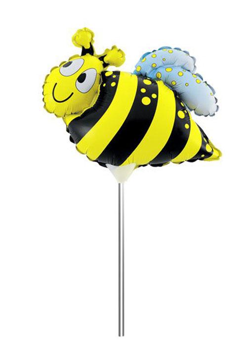 Action! Шар фольгированный на палочке Пчела API0226