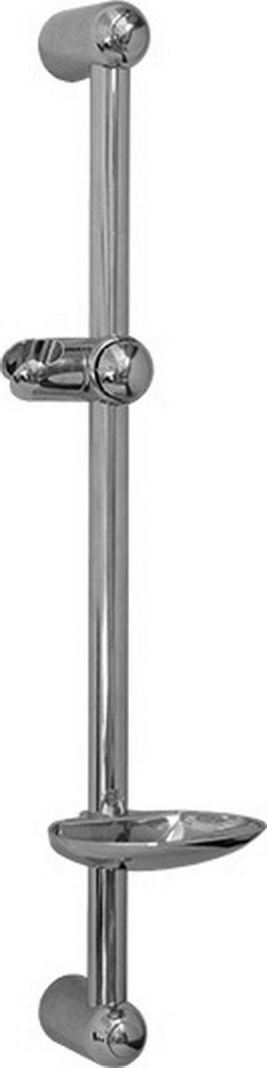 Argo стойка для душа с хромированной мыльницей, 60 см, B-A33917Argo стойка для душа с хромированной мыльницей, 60 см Argo b-a Материалы: Трубка: нержавеющая сталь. Опоры, кронштейн, мыльница-ABS пластик. Покрытие: хром.