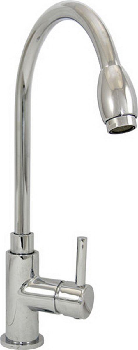 Argo смеситель для кухни Yota, d-2534157Смеситель для кухни 25-03l yota картридж d-25 мм short-size, крепеж одношточный Single-Rod аэратор м24х1 наружная резьба only plast 10 - 13 л/мин. при 0,3 МПа покрытие никель / хром комплектация гибкая подводка Argo 50 см материал основа латунь