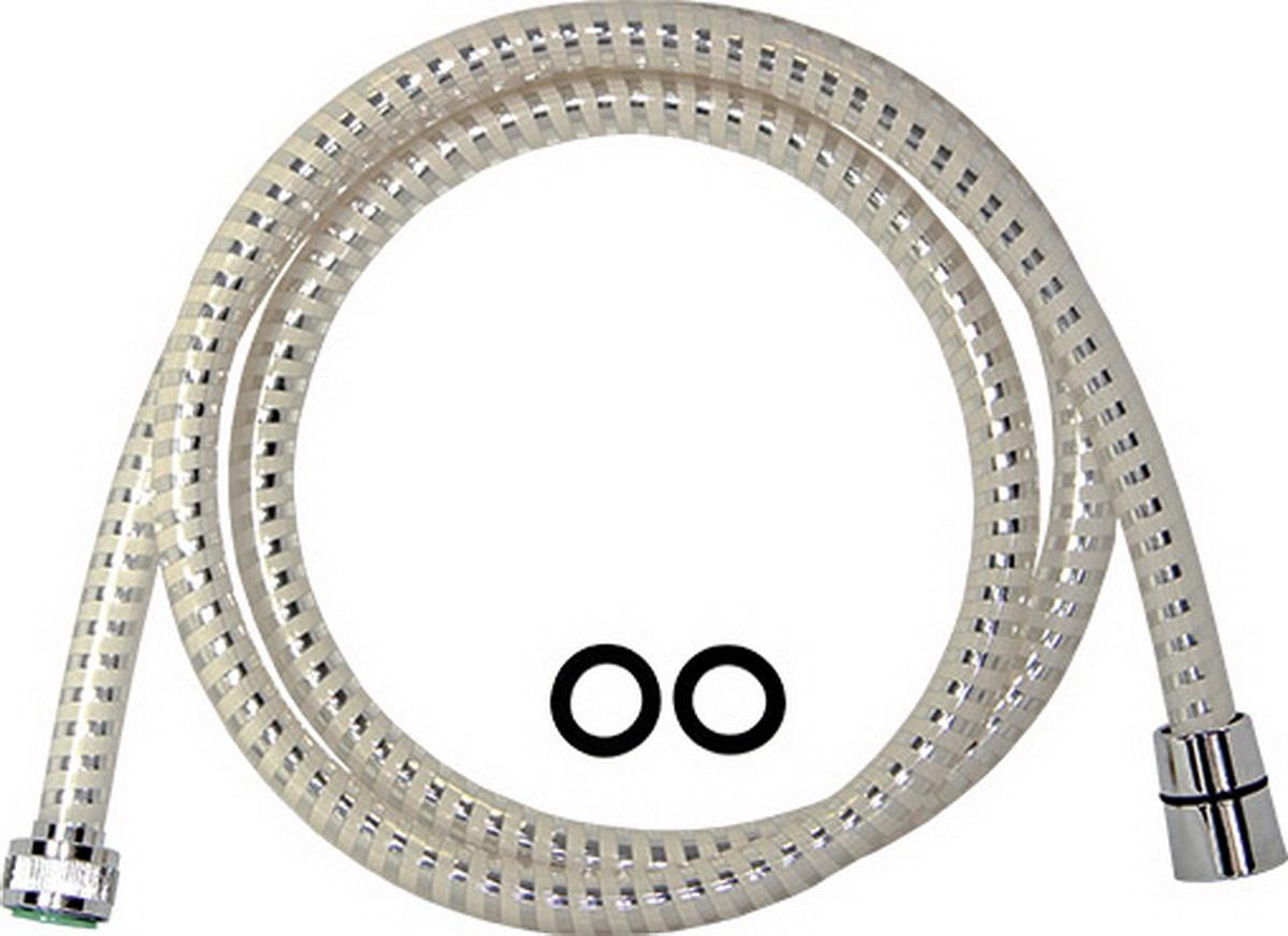 Argo шланг для душа, 1/2, PVC Еspiroflex WHITE, 150 см34551Шланг для душа Argo 1/2, pvc espiroflex white, 150 см