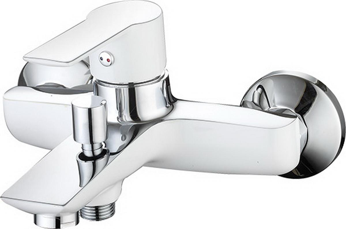 Argo смеситель для ванны Olimp, хром/белый, d-35
