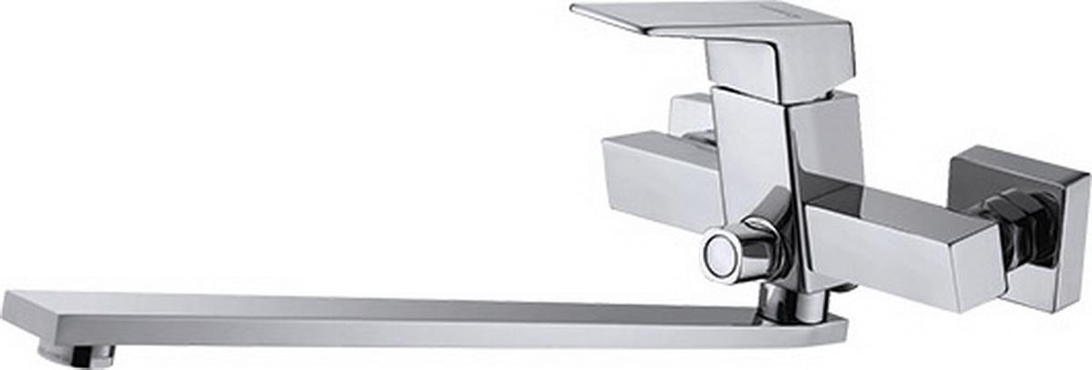 Argo смеситель для ванны и умывальника Grano, d-35, керамическийамбукса, L образный излив 290 мм