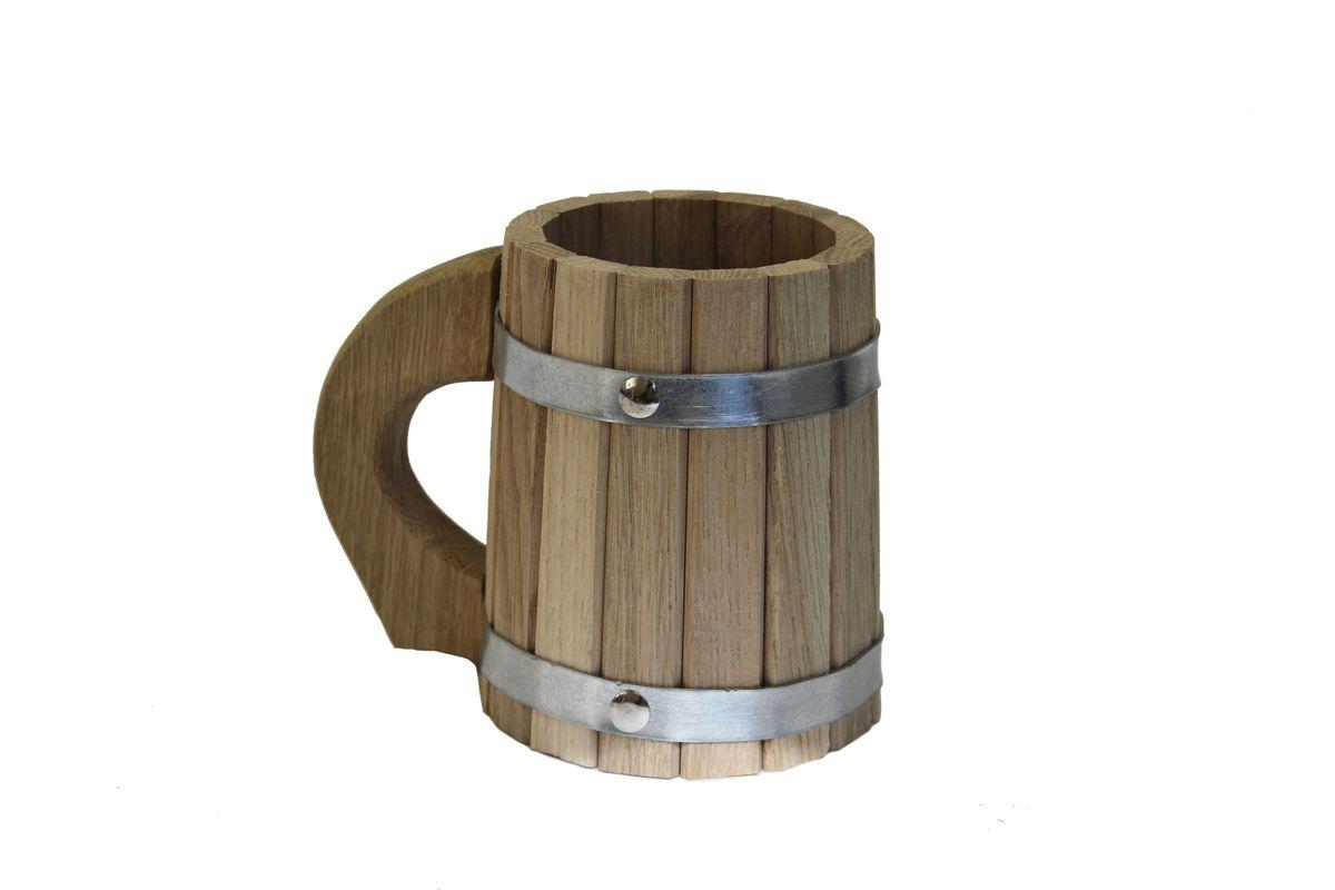 Proffi Home Кружка 0,5 л (дуб).PS0047Тип: Кружка Количество предметов в наборе: 1 шт. Ведро/ковш/кружка Количество: 1 шт. Объем: 0.5 л Материал: Дерево