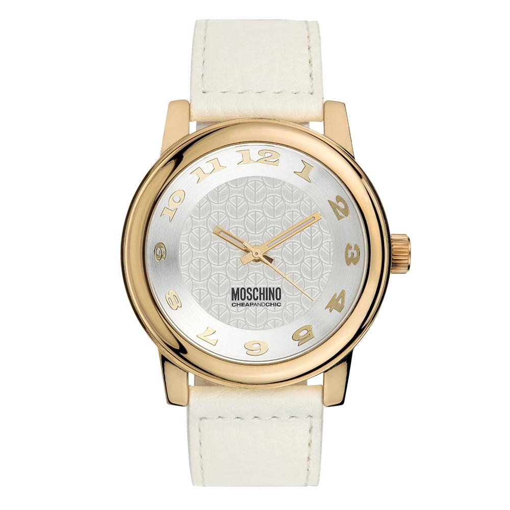 Часы мужские наручные Moschino Button, цвет: белый. MW0263MW0263Часы наручные Moschino MW0263 Водостойкость: 30м (3 АТМ)