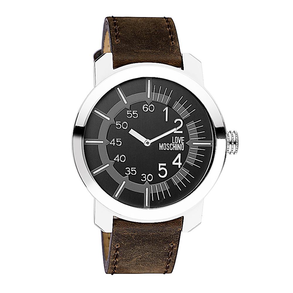 Часы женские наручные Moschino Tic-Toc, цвет: коричневый. MW0404MW0404Часы наручные Moschino MW0404 Водостойкость: 30м (3 АТМ)