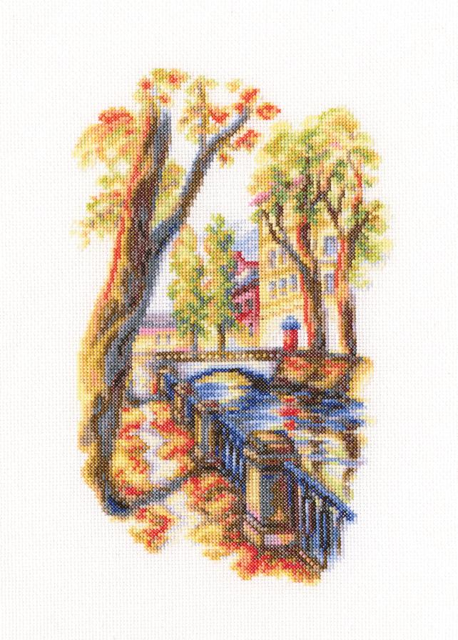 Набор для вышивания крестом RTO Мосты Петербурга, 15 х 23 смМ540Красивый рисунок-вышивка, выполненный на канве, выглядит оригинально и всегда модно. Работа, сделанная своими руками, создаст особый уют и атмосферу в доме и долгие годы будет радовать вас и ваших близких. Набор для вышивания содержит все необходимые материалы. Вышивка выполняется швом счетный крест в две нити мулине. В состав набора входит: - канва Aida 18 белого цвета (100% хлопок, 7,0 клеток = 1 см, рисунок не нанесен), - вышивальные нитки-мулине DMC на карте, разобранные по цветам (32 цвета, 100% хлопок), - символьная схема, - инструкция, - игла для вышивания.
