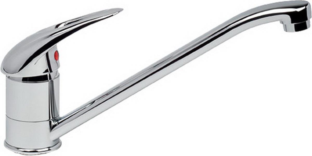 Argo смеситель для кухни Open, d-409689Смеситель для кухни 40-01 open картридж d-40 мм short-size, крепеж двухшточный double-rod аэратор м24х1 наружная резьба only plast 10 - 13 л/мин. при 0,3 МПа покрытие никель / хром комплектация гибкая подводка Argo 50 см материал основа латунь