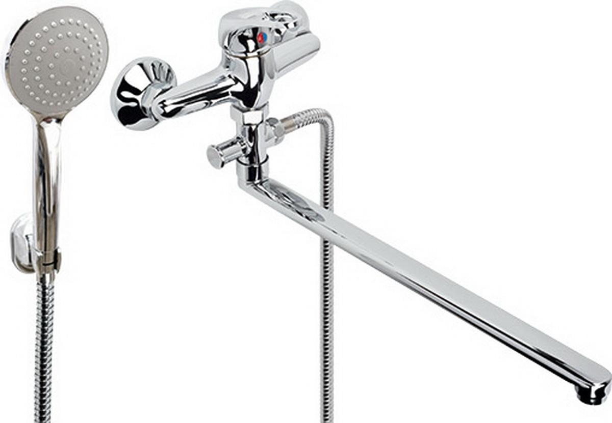 Argo смеситель для ванны и умывальника Young, d-35, штоковый, L образный излив 375 мм