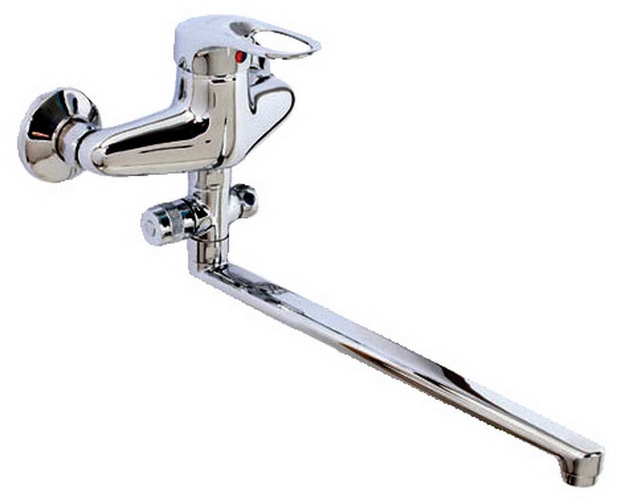 Argo смеситель для ванны и умывальника Boss, d-40, L образный излив 325 мм9724Смеситель для ванны и умывальника 40-l35l/d boss картридж d-40 мм short-size, крепеж эксцентрик усиленный 3/4 х 1/2 + прокладка-фильтр аэратор м24х1 наружная резьба only plast 10 - 13 л/мин. при 0,3 МПа покрытие никель / хром комплектация душевой шланг 150 см, оплетка - хромированная нержавеющая сталь, двойной замок, 1/2 душевая лейка Lux трехпозиционная: душ, массаж, душ/массаж кронштейн двухпозиционный материал основа латунь