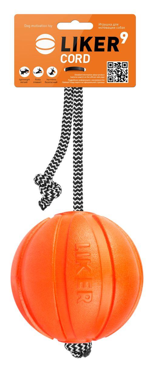 Игрушка для собак Liker Корд на шнуре, диаметр 9 см6297Liker Корд на шнуре - игрушка для мотивации собак. Она создана из уникального материала для поощрения и повышения игровой мотивации. Разработана специально для крупных пород собак. Увеличивает интенсивность тренировки и обеспечивает безопасность рук хозяина. Специальный прорезиненный шнур не режет ладонь. Игрушка удобна для игр в перетягивание, легко забрасывается на большое расстояние. Отлично подходит для игр в воде, так как корд не тонет. Не токсичен, мягко прокусывается и не травмирует зубы или десна собаки. Диаметр игрушки: 9 см. Длина шнура: 28 см.