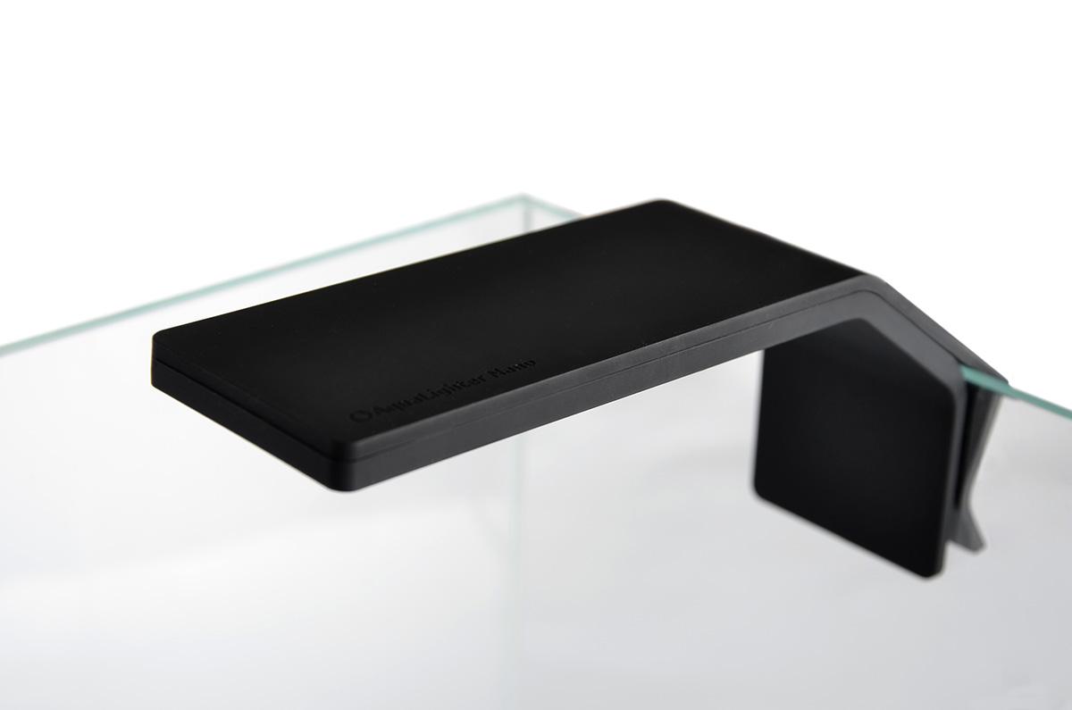 Светодиодный светильник AquaLighter Nano до 25л, 6500К8225Предназначен для пресноводного аквариума до 20л со стеклами толщиной до 5мм, 6500К, 400 люм. Экономный - потребляемая мощность 4.5 Вт, эффективный - ярче стандартных аквариумных ламп, безопасный - защищен от влаги, выдерживает кратковременное погружение в воду без потери работоспособности. Длина рабочей поверхности светильника (до изгиба): 12 см. Длина от изгиба до зажима: 6 см. Ширина светильника: 5 см.