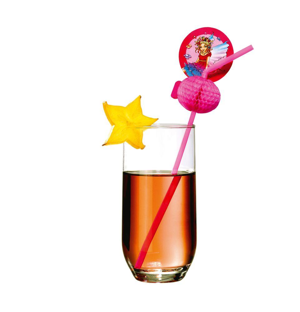 Susy Card Сервировка праздничного стола детям Трубочки для коктейля Фея 10 шт
