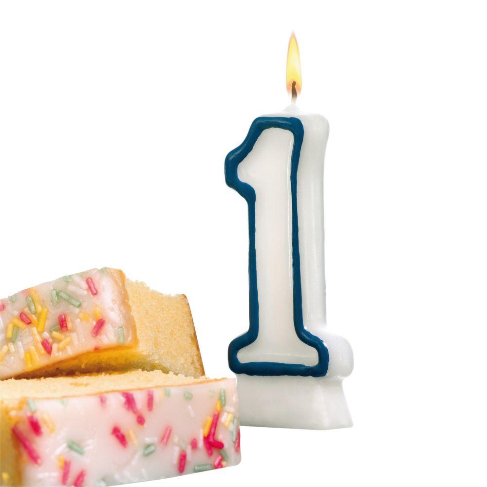 Susy Card Свеча-цифра для торта 1 год11142320