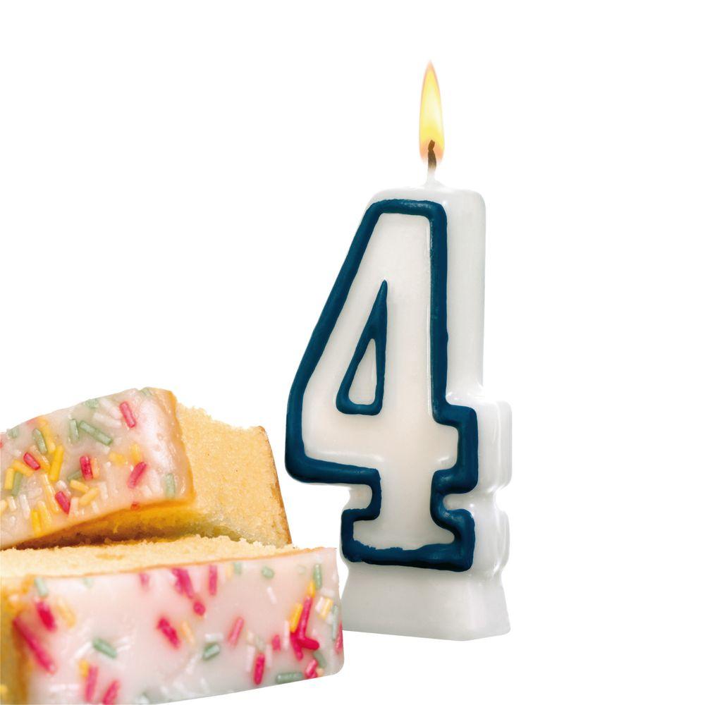 Susy Card Свеча-цифра для торта 4 года11142353
