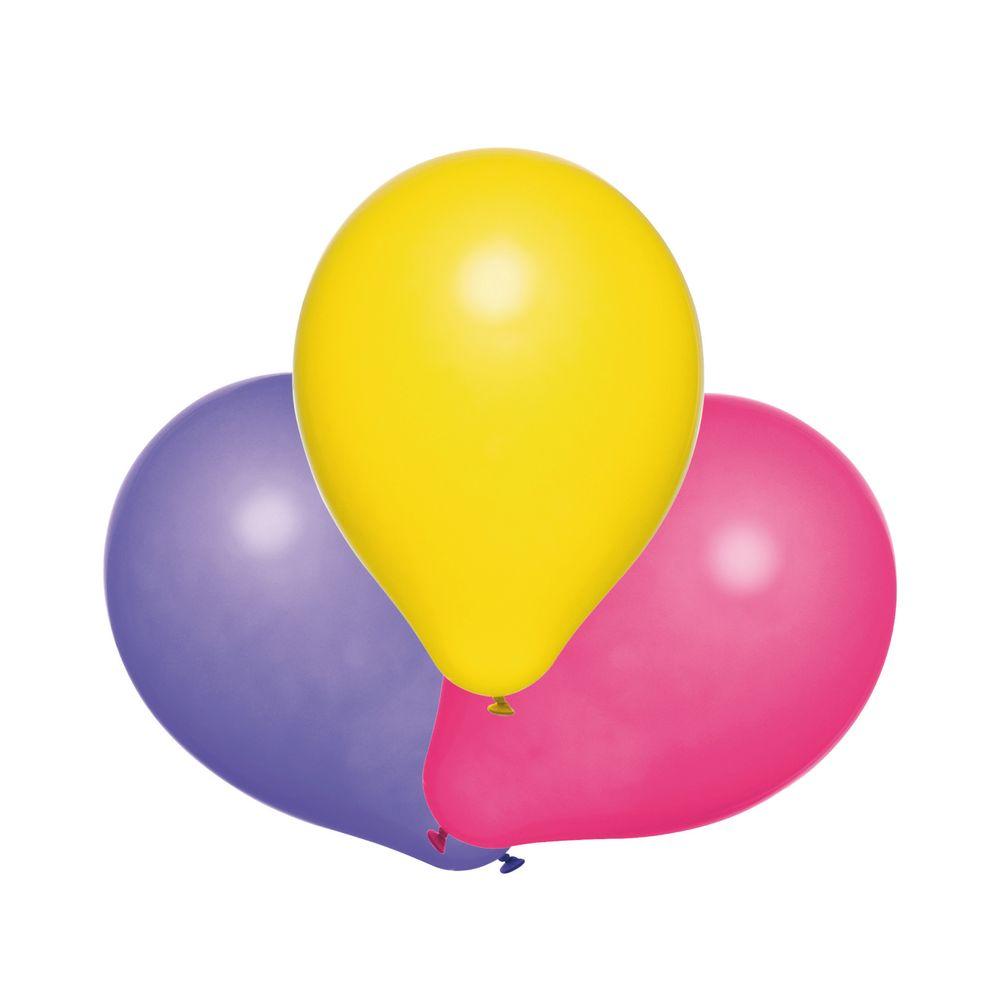 Susy Card Набор воздушных шариков детский Радужные 10 шт11143484