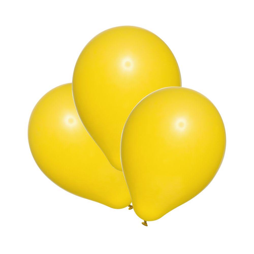 Susy Card Набор воздушных шариков детский цвет желтый 25 шт