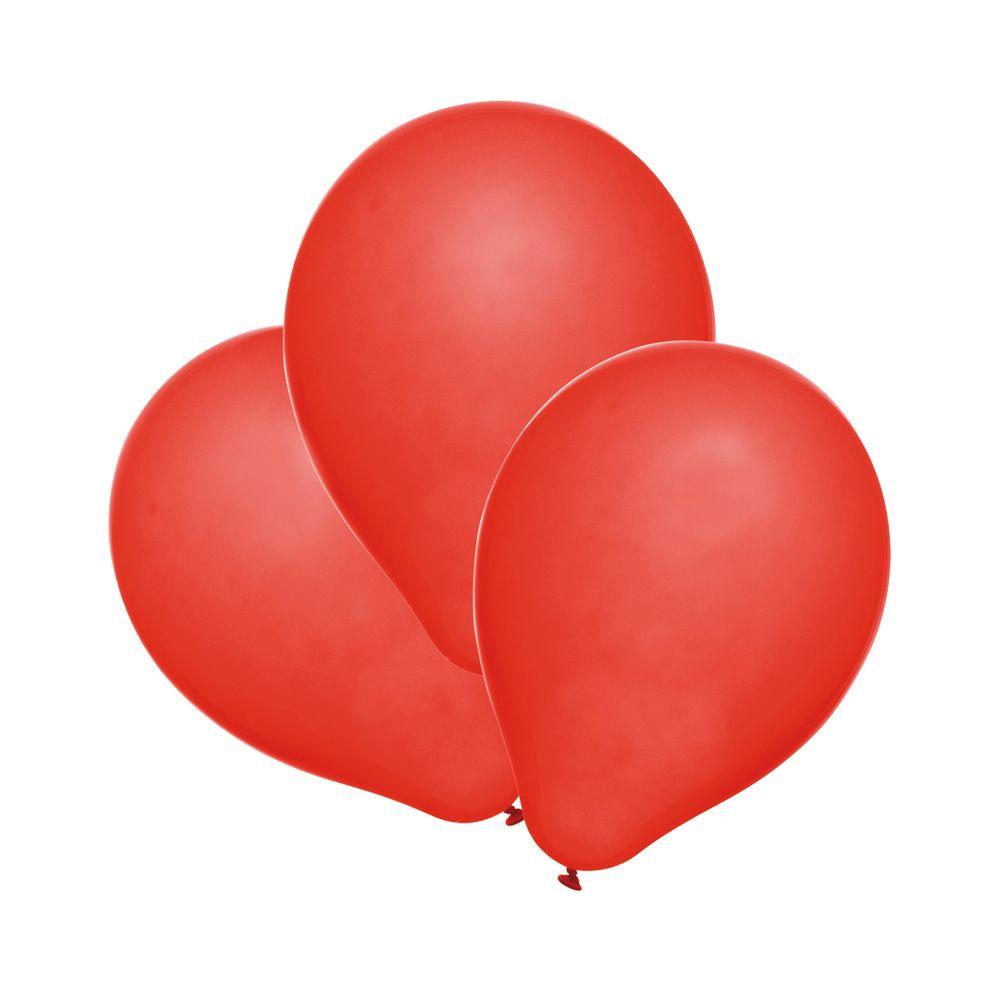 Susy Card Набор воздушных шариков детский цвет красный 25 шт11143534