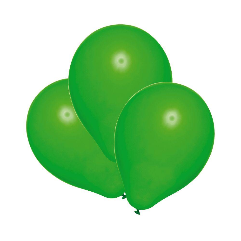Susy Card Набор воздушных шариков детский цвет зеленый 25 шт11143542