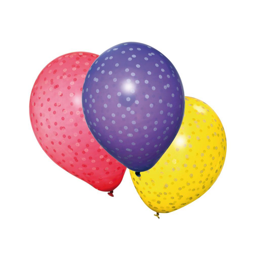 Susy Card Набор воздушных шариков детский Горошки 6 шт11143906