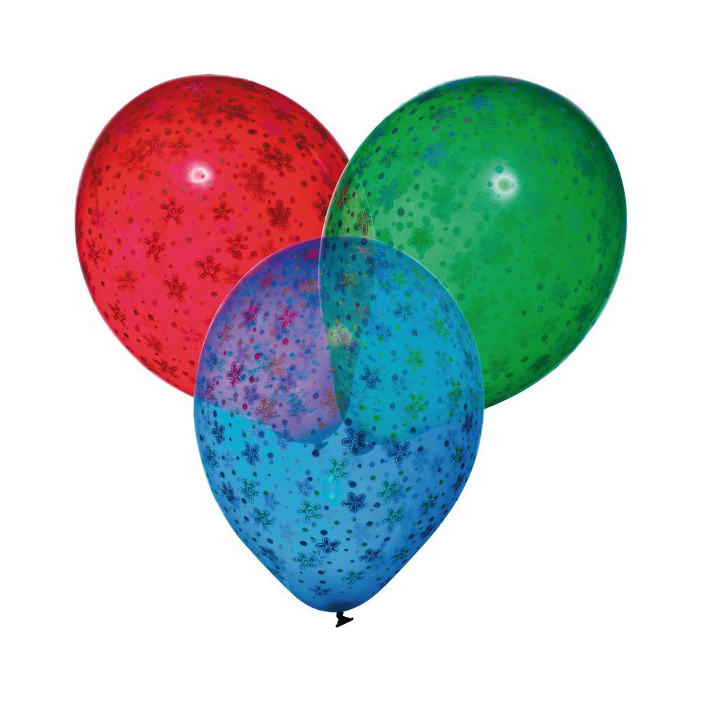 Susy Card Набор воздушных шариков детский Цветы 6 шт