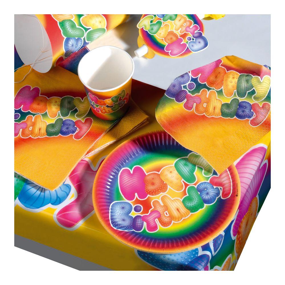 Susy Card Сервировка праздничного стола детям Набор для пикника Happy Birthday 1114485411144854